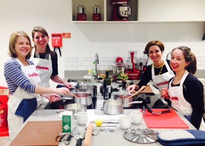 bookends team cooking