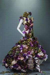 Mc Queen Floral Dress