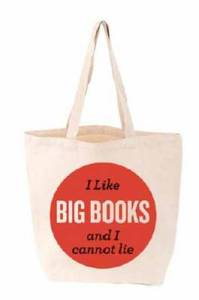 I like big books tote bags